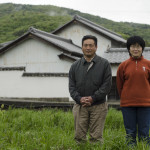 Okitsu-san and his wife on their natural farm in Awa, Shikoku, Japan (Photo: P.M. Lydon | Final Straw)