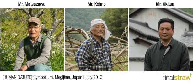 The [HUMAN:NATURE] lecturers for our event in Megijima, Japan.
