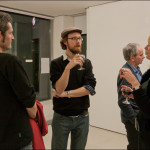 Opening night of the Final Straw exhibition, November 26, 2013 at TENT Gallery, Edinburgh.