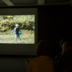 Preview screening of short clips from Final Straw documentary at Art, Space & Nature Studio in Edinburgh.