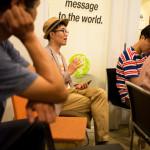 Feedback session at Space Noah in Seoul, Korea