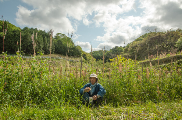 Yoshikazu Kawaguchi at his Akame Farm School in Japan (photo: Patrick M. Lydon | Final Straw)